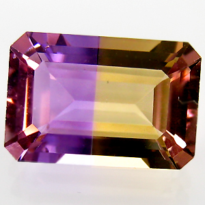 Ametrine Facetted