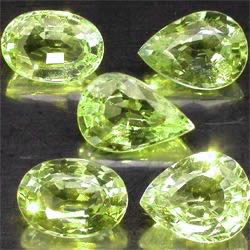 Chrysoberyl Facetted