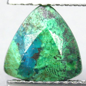 Chrysocolla Facetted