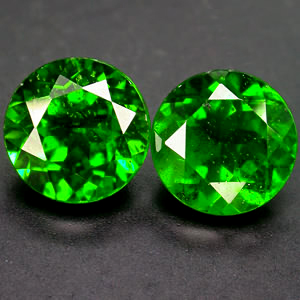 Diopside Facetted
