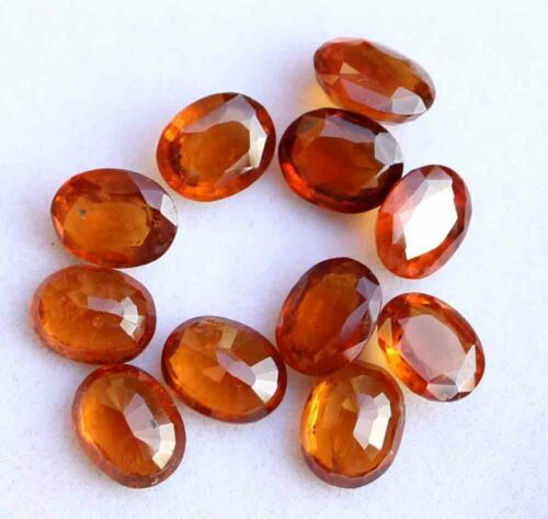Hessonite Facetted
