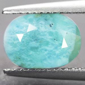 Larimar Facettiert