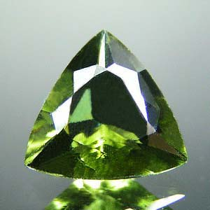 Moldavite Facetted